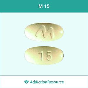 M 15 Meloxicam pill.