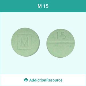 M 15 pill.