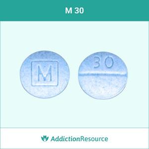 M 30 pill.