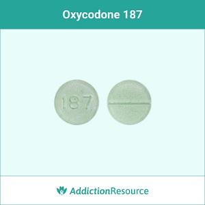 Oxycodone 187 pill.