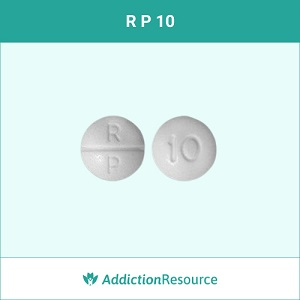 RP 10 Oxycodone pill.
