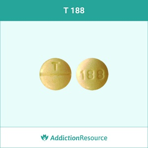 T 188 Oxycodone pill.