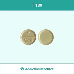 T 189 pill of Oxycodone.