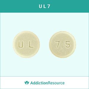 U L 7.5 Meloxicam tablet.