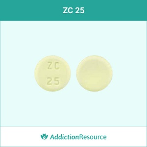 ZC 25 Meloxicam tablet.