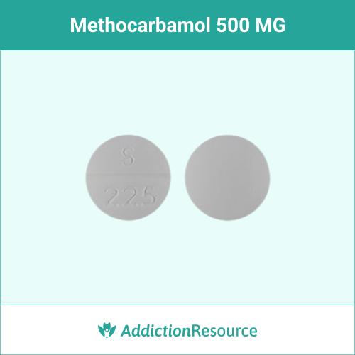 Methocarbamol 500 MG, S 225.