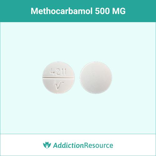 Methocarbamol 500 MG, 4211 V.