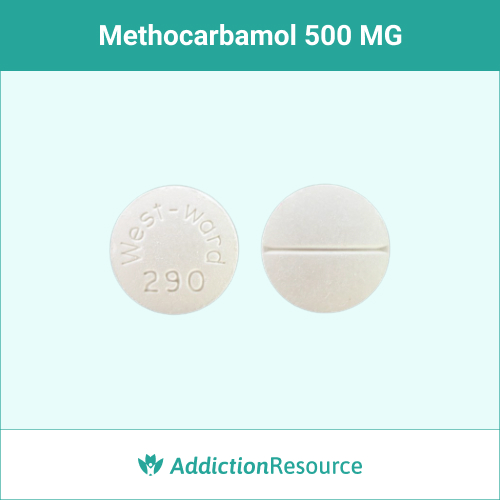 Methocarbamol 500 MG, West-ward 290.