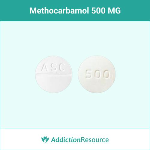 Methocarbamol 500 MG, ASC 500.