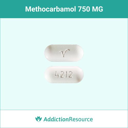 Methocarbamol 750 MG, 4212 V.