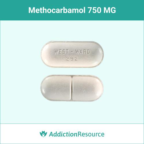 Methocarbamol 750 MG, West-ward 292.