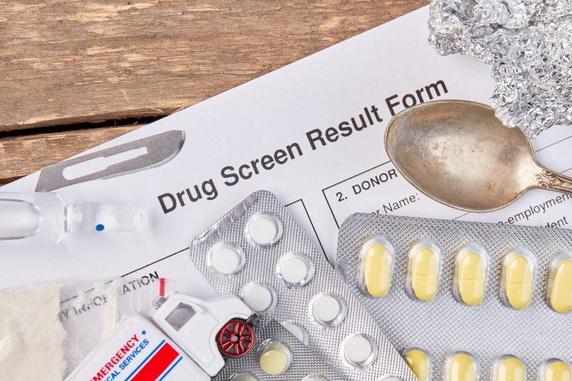 Drug Test Result Form
