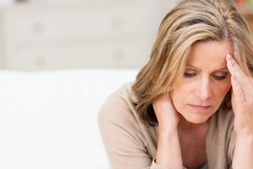 Woman is Suffering from Stress