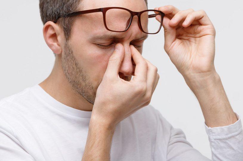 Man is Suffering from Obstructive Sleep Apnea