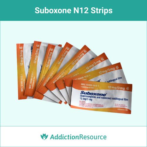 Suboxone N12 strip