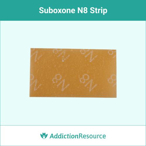 Suboxone N8 strip