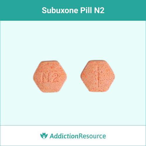 Suboxone N2 pill