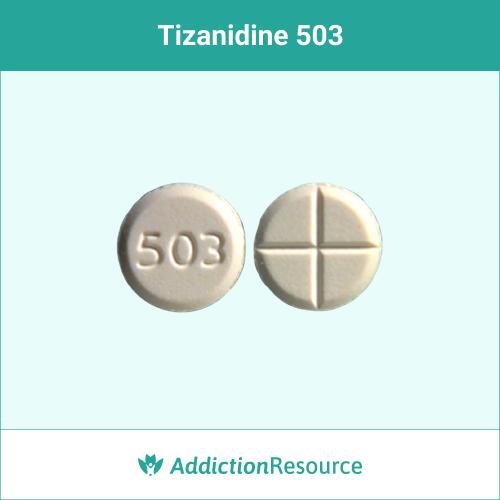 White 503 pill