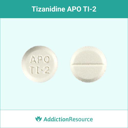White APO TI-2 pill