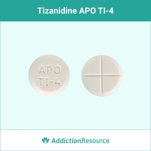 White APO TI 4 pill