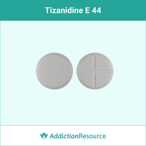 White E 44 pill