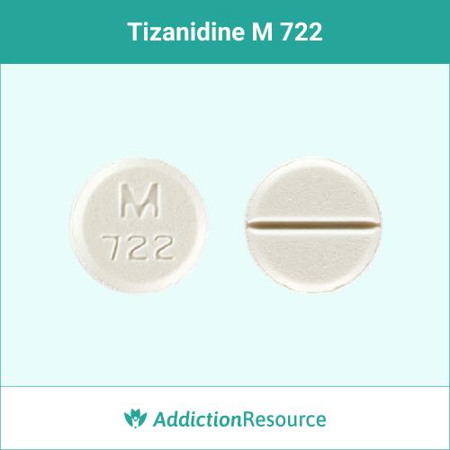 White M 722 pill