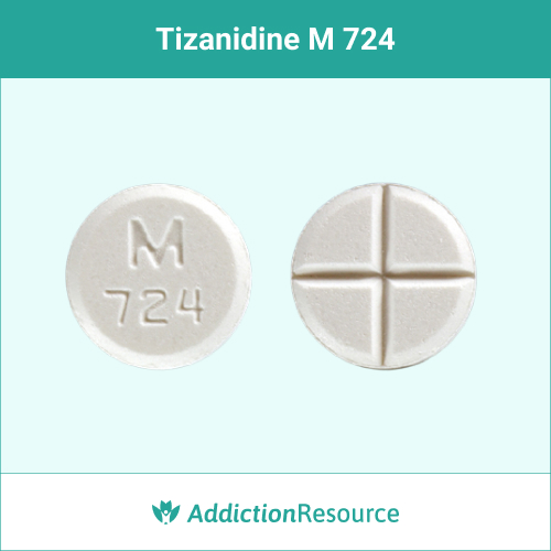 White M724 pill