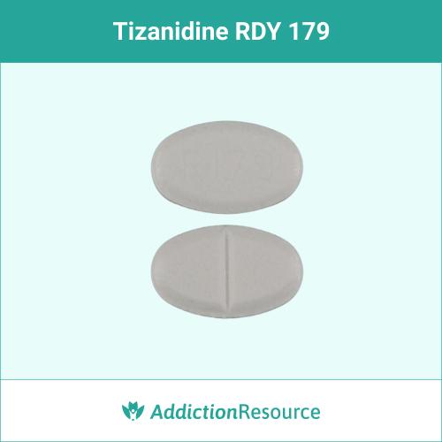 White RDY 179 pill