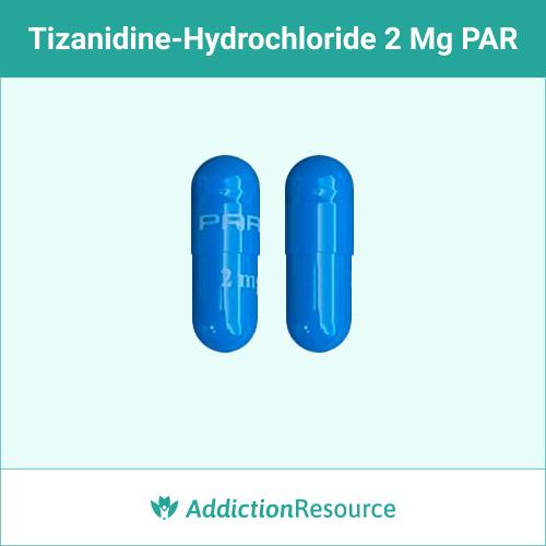 Blue 2 mg PAR capsule