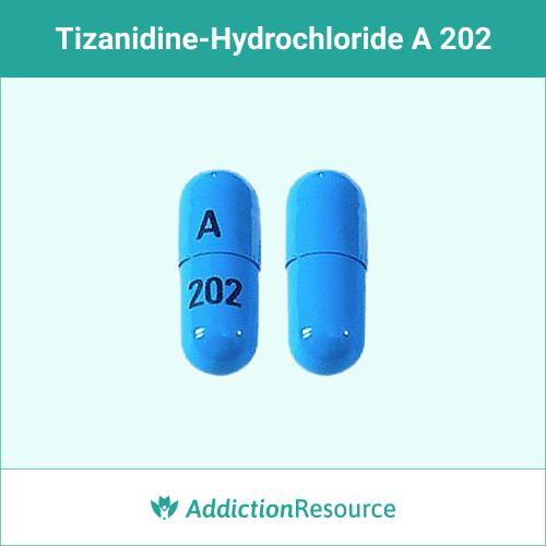 Blue A 202 capsule