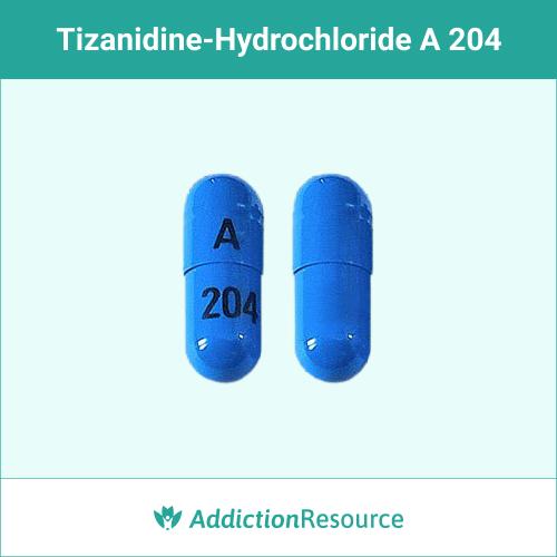 Blue A 204 capsule