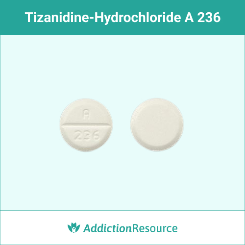 White A 236 tablet