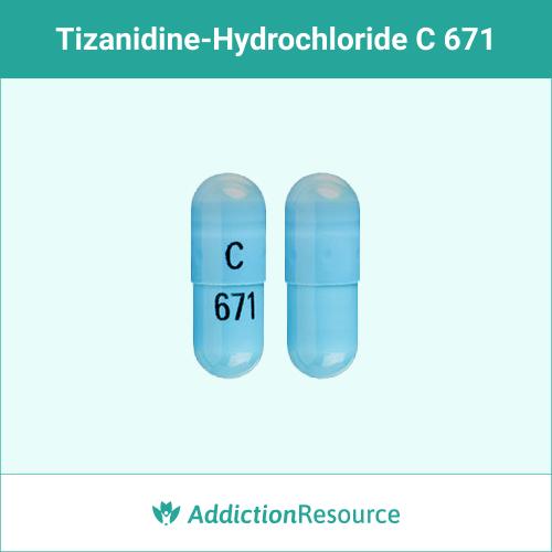 Blue C 671 capsule