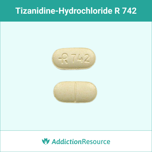 Yellow R742 pill