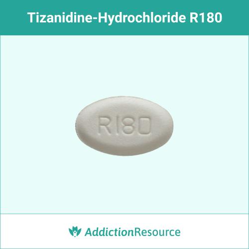 White R180 pill