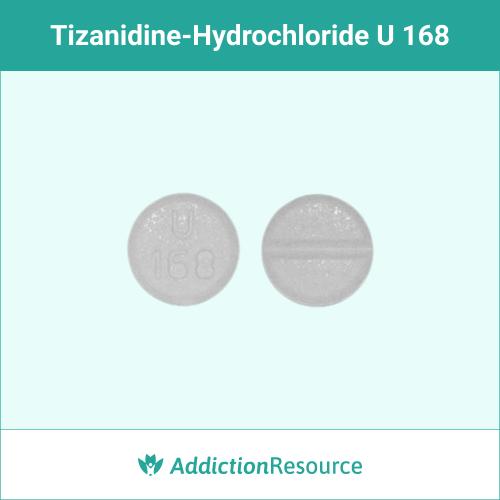 White U 168 pill