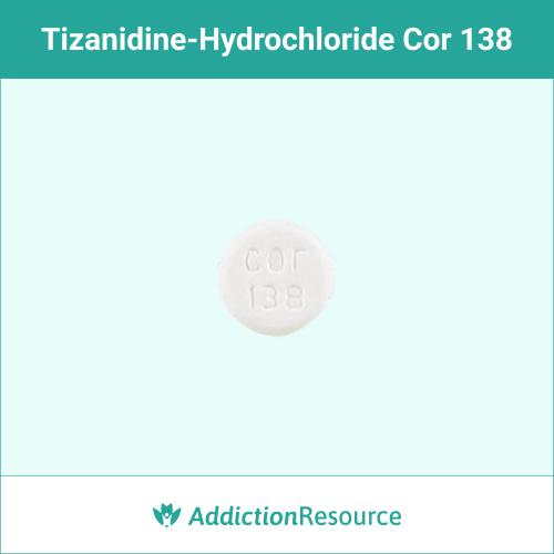 White Cor 138 pill